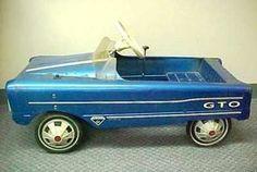 GTO Pedal Car