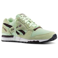 Reebok GL 6000 Jersey Shoes Taupe Size 8
