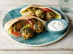 Eat-Your-Veggies Mediterranean Meatballs