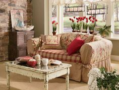 Sweet country living room