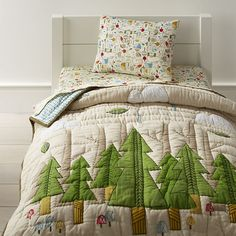 Sale ends soon. Our Nature Trail Toddler Bedding features features a woodland forest theme, perfect for your toddler's room. Boy Toddler Bedroom, Toddler Rooms, Boys Bedroom Decor, Bedroom Themes, Boy Room, Bedroom Ideas, Kids Rooms, Boy Bedrooms, Child's Room