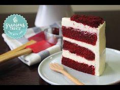 Red Velvet Moist Cake | Valentine's Special - YouTube Velvet Cake, Red Velvet, How To Make Cake, Food To Make, Apple Dumpling Recipe, Resep Cake, Heart Shaped Cakes, Cake Cutters, Moist Cakes