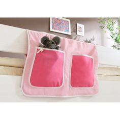 Bett-Tasche für Hoch- und Etagenbetten Pink Jetzt bestellen unter: https://moebel.ladendirekt.de/kinderzimmer/betten/etagenbetten/?uid=d8301f28-931f-5b6e-bf64-caed89b456af&utm_source=pinterest&utm_medium=pin&utm_campaign=boards #etagenbetten #kinderzimmer #jugendbetten>etagenbetten #betten #wohnen>möbel>betten>kinderbetten Bild Quelle: obi.de