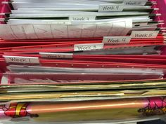 Great way to organize small group materials for ALL groups ALL at once! - Two Teachers on A Limb