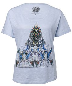 Von der Künstlerin Brooke Reidt stammt das Frontprint Design des Shirt von Element. Ein leichter und lockerer Schnitt sorgt im Sommer für besten Tragekomfort.