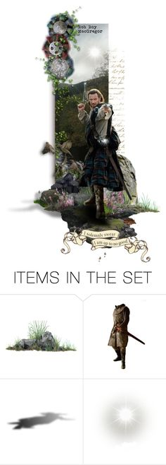 """Rob Roy, the Gentleman Outlaw"" by annette-heathen ❤ liked on Polyvore featuring art, history and scotland"