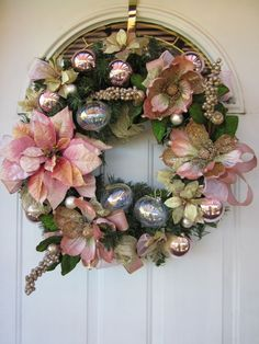 Victorian Christmas Wreaths | Victorian winter style wreath | Christmas Wreaths