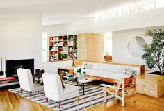 The+Most+Inspiring+Midcentury+Home+Remodels+via+@MyDomaine