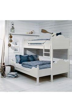 Våningssäng Dovre (undersäng utdragbar) Bunk Rooms, Bunk Beds, Bedrooms, Cottage Plan, Cottage Homes, Building Furniture, Compact Living, Cabin Interiors, Teen Bedroom