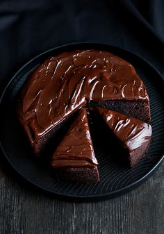 Chocolate Baileys Mud Cake by Citrus and Candy, via Flickr