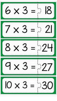 Multiplication puzzle for school Primary Maths Games, Math Activities, Math Made Easy, Math School, Math Multiplication, Homeschool Math, Math Facts, Math For Kids, Elementary Math