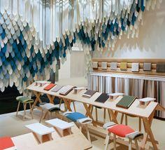 Kvadrat stand by Raw Edges Design Studio, Stockholm