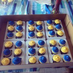 Boyscout cupcakes
