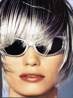 Killerstrands Hair Clinic: 50 Shades of Grey . How to Get Silver Hair & More Importantly How to Keep It ! My Hairstyle, Cool Hairstyles, Metallic Hair Color, Going Gray Gracefully, Drop Dead Gorgeous, Beautiful, Hair Clinic, Silver Grey Hair, White Hair