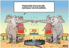 Elephants Stampede Capitol Quip