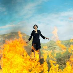 one of Marion Cotillard as Joan of Arc #Dior