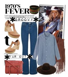 """""""1970s Fever..."""" by glamorous09 ❤ liked on Polyvore featuring Monsoon, Topshop, Toast, Old Navy, White Label, women's clothing, women's fashion, women, female and woman"""