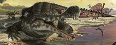 Resultado de imagen para sarcosuchus