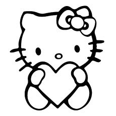 491 best crafts diy images on pinterest homemade gifts antique Hello Kitty and Friends top 75 free printable hello kitty coloring pages online