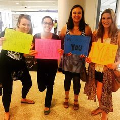 The best airport pickup surprise a girl could ask for