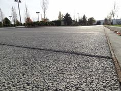Award Winning Pervious Concrete work @ Oak Harbor, WA - Navy Federal Credit Union.