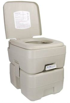 5 GAL Portable Camp Toilet Camping Flush Potty