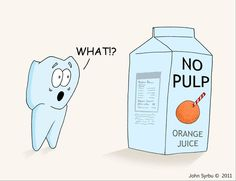 Tooth pulp is vital in keeping the tooth alive and healthy its the heart of the tooth! #DeltaDental