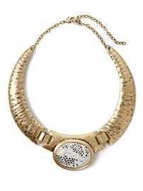 Neat tribal collar necklace, Sabine from Piperlime.