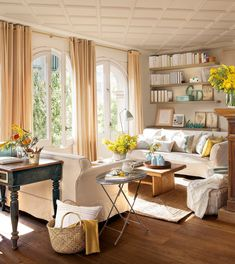 The Appeal Of Yellow Living Room 32 Eclectic Living Room, Home Living Room, Living Room Designs, Living Room Decor, Living Spaces, Sweet Home, Design Case, Creative Home, Creative Decor
