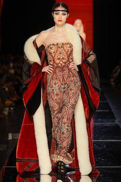 Jean Paul Gaultier Haute Couture - Pasarela  Otoño Invierno 2012/2013