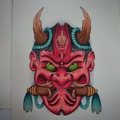 Oni hannya complete would love to tattoo this! Email bharperart@gmail.com or pm me if you're interested will do for a good price! Thanks #tattoo #tattooart #tattoocollective #uktta #artcollective #art #artwork #artnerd #artnerd2015 #artnerd2016 #unitedartists #nawden #nawdens #japanese #irezumi #tebori #japaneseart #japanesetattooart #japanesecollective #hannyamask #hannyamask #oni #copic #japanesetattoosub #draw #drawing #sketch #instagramart #instagood #igdaily