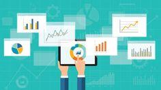 flat business analytics graph on mobile device royalty-free stock vector art Analytics Dashboard, Google Analytics, Data Analytics, Video Editing Apps, Great Websites, Latest Technology News, Google Ads, Social Media Site, Big Data