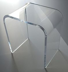 """Acrylic End Table 18"""" high, x 17"""" long, x 12"""" wide x 3/4 thick southeastflorida http://www.amazon.com/dp/B00JDTEBCM/ref=cm_sw_r_pi_dp_ONeGvb1SZGEVK"""