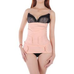Hip Mall® 3 in 1 Postpartum Girdle Belly Band Support for Stomach Waist Pelvis Shapewear