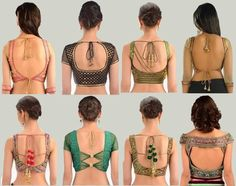 Are you looking for saree blouse designs latest patterns? Here is the collection of latest indian saree blouse designs with front & back neck designs. Choli Designs, Saree Jacket Designs, Pattu Saree Blouse Designs, Sleeve Designs, Blouse Back Neck Designs, Best Blouse Designs, Meme Costume, Costumes, Sari Bluse
