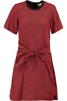 3.1 PHILLIP LIM  Knotted striped cotton and silk-blend dress  148£  https://www.theoutnet.com/en-gb/shop/product/item_cod4772211932012573.html