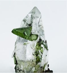 Titanite with Quartz - Seebach valley, Ankogel group, Hohe Tauern, Carinthia, Austria Size: 8.0 cm