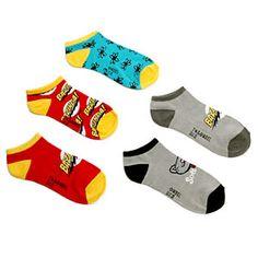 ThinkGeek :: Big Bang Theory Low Cut Socks 5-pack