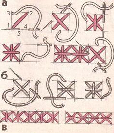 Вышивка.Болгарский крест