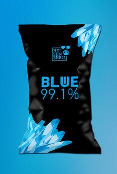 Corporate Packaging for Heisenberg's 'Product' From Breaking Bad Breaking Bad, Heisenberg, Label Design, Logo Design, Package Design, Packaging Snack, Walter White, Corporate, Branding