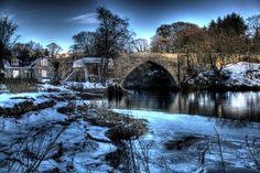 Bridge of Balgownie, Aberdeen, Scotland