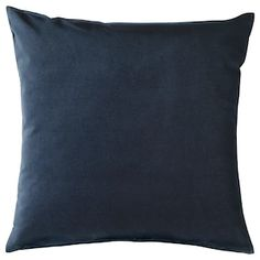 Upgrade your couch or sofa the easy way with our collection of throw pillows and cushions in a variety of unique stylish designs. Sofa Pillow Covers, Couch Pillows, Cushion Covers, Throw Pillows, Velvet Cushions, Cotton Velvet, Cushion Pads, Dark Blue, Navy Blue Pillows