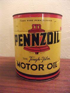 Vintage Pennzoil Gas Can