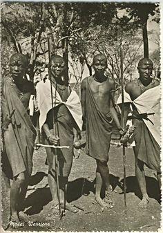 Masai Warriors. Kenya