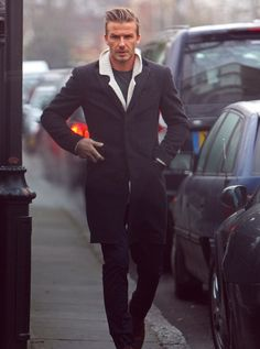 Say what you want. Becks can dress