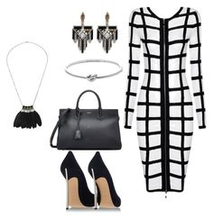 """""""decent party"""" by alexa-barnes on Polyvore featuring Posh Girl, Lulu Frost, Michael Kors, Yves Saint Laurent, Casadei, women's clothing, women's fashion, women, female and woman"""