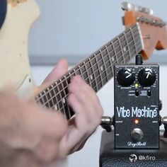 The Vibe Machine™ series – the world's first smallest vibe pedal. Guitar Riffs, Guitar Songs, Guitar Art, Cool Guitar, Ukulele, Guitar Chords And Scales, Guitar Chord Chart, Guitar Effects Pedals, Guitar Pedals