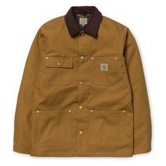 Carhartt WIP Michigan Chore Coat http://shop.carhartt-wip.com:80/gb/men/jackets/I015261/michigan-chore-coat