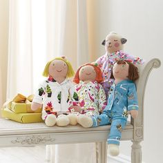 Her favorite doll can be part of the night, too! Our 2-Piece Dolls' PJs are so adorable. #pjnight