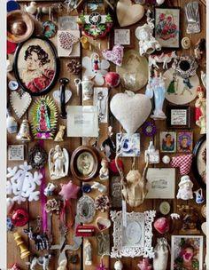 memories--a crazy quilt wall~k